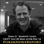 Dara O´Kearney Leads UKIPT Isle of Man after Day 1A