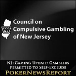 NJ iGaming Update: Online Gamblers Permitted to Self-Exclude