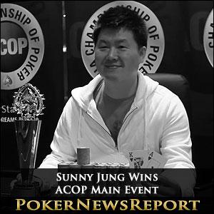 Sunny Jung Wins ACOP Main Event