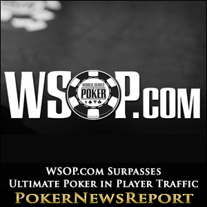 WSOP.com Surpasses Ultimate Poker in Player Traffic
