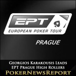 Georgios Karakousis Leads EPT Prague High Rollers