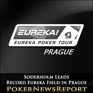 Soderholm Leads Record Eureka Field in Prague
