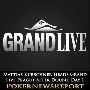 Mattias Kurschner Heads Grand Live Prague after Double Day 1