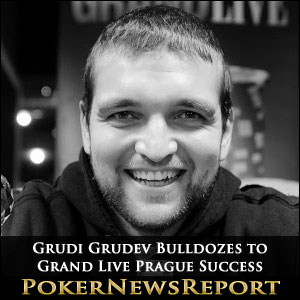 Grudi Grudev Bulldozes to Grand Live Prague Success