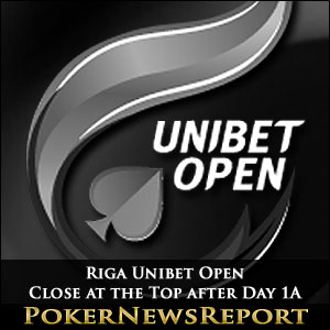 Close at the Top after Day 1A of the Riga Unibet Open