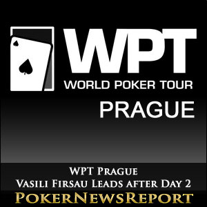 Vasili Firsau Leads Combined Field into Day 2 of WPT Prague