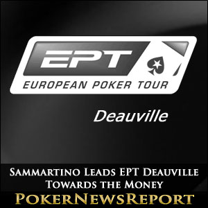 Sammartino Leads EPT Deauville Towards the Money