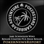 Jake Schindler Wins Roller Coaster PCA High Roller