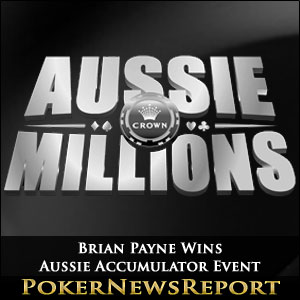 Brian Payne Wins Aussie Accumulator Event