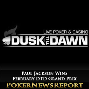 Paul Jackson Wins February DTD