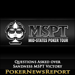 Questions Asked over Sandness MSPT Victory