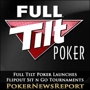 Full Tilt Poker Launches Flipout Sit n Go Tournaments