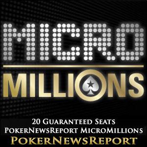 20 Guaranteed Seats PokerNewsReport MicroMillions