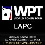 Michael Rocco Heads LA Poker Classic Final Table