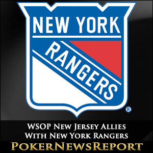 WSOP New Jersey Allies With New York Rangers