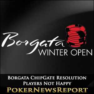 Borgata ChipGate Resolution Players Not Happy