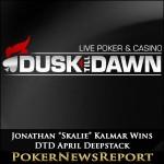 """Jonathan """"Skalie"""" Kalmar Conquers DTD April Deepstack"""