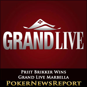 Priit Brikker Wins Grand Live Marbella