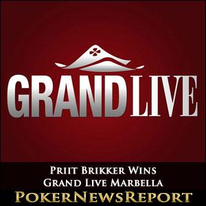 Priit Brikker Runs Hot to Win Grand Live Marbella