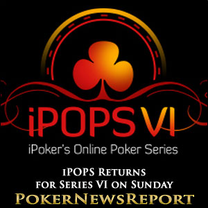 iPOPS Returns for Series VI on Sunday