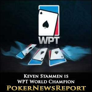 Keven Stammen is WPT World Champion