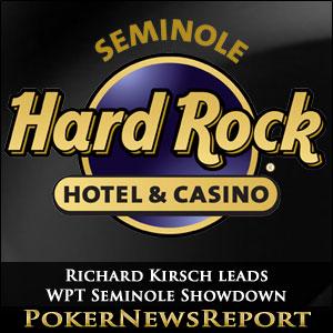 Richard Kirsch leads Record-Breaking WPT Seminole Showdown