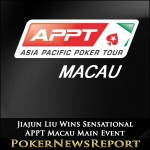 Jiajun Liu Wins Sensational APPT Macau Main Event