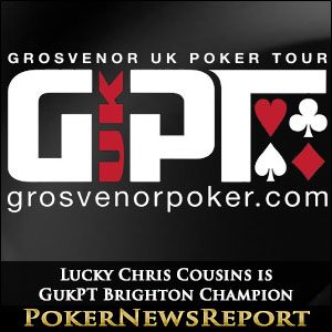 Lucky Chris Cousins is GukPT Brighton Champion