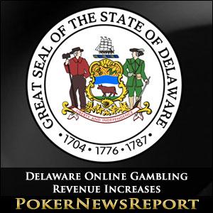 Delaware Online Gambling Revenue Increases