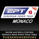 Salter and Roca Control Monaco Main Event Final Table