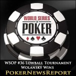 2014 WSOP Event #36 Wolansky Hits the Heights in Lowball Tournament