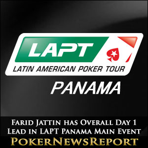Farid Jattin has Overall Day 1 Lead in LAPT Panama Main Event