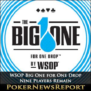 WSOP Big One for One Drop