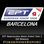 102 Remain in EPT Barcelona Main Event after Day 3