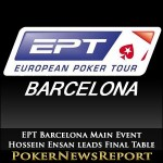 Hossein Ensan leads Final Table of EPT Barcelona Main Event