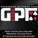 Ryan Foster Fells Record-Breaking Goliath Field