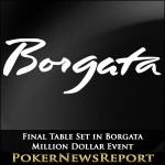 Final Table Set in Borgata Million Dollar Event