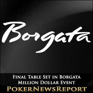 Final Table Set in Borgata Million Dollar Event