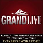Konstantinos Meliopoulos Heads TGL Tallinn Final Table