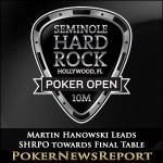 Martin Hanowski Leads SHRPO towards Final Table
