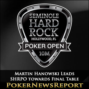 Martin Hanowski Leads SHRPO towards Final Table