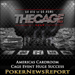 Americas Cardroom Cage Event Huge Success