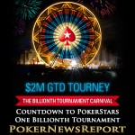 Countdown Launched to PokerStars One Billionth Tournament