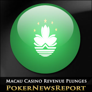 Macau Casino Revenue Plunges