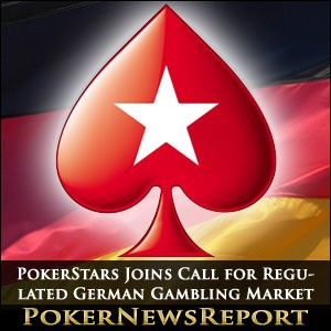 PokerStars Joins Call for Regulated German Gambling Market