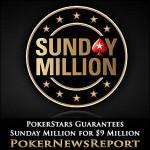 PokerStars Guarantees Anniversary Sunday Million for $9 Million
