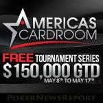 Americas Cardroom to Host $150K Freebuy Tournament Series