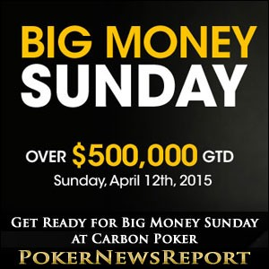 Big Money Sunday at Carbon Poker