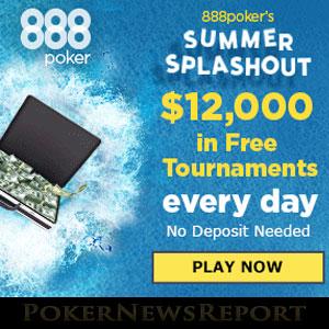 888Poker Splashing the Cash with Summer Splashout Promo