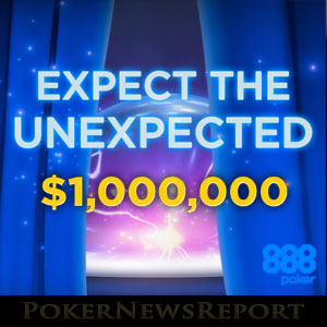 888Poker Unexpected Giveaway